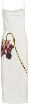 Jason Wu Collection Embellished Silk Habotai Slip Dress