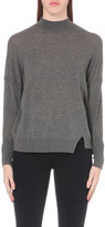 J Brand Acacia wool-neck jumper