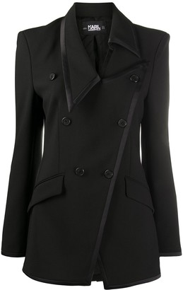 Karl Lagerfeld Paris STUDIO KL asymmetric blazer