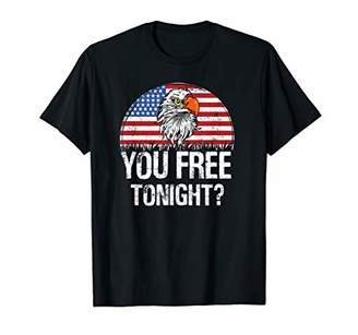 Eagle you free tonight American Flag T shirt