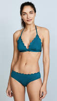 Kate Spade Scalloped Triangle Bikini Top
