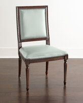 Horchow Massoud Ingram Leather Dining Chair, E3