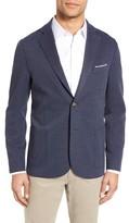 Eleventy Men's Trim Fit Jersey Blazer