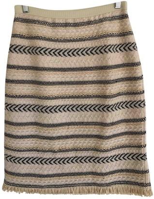 Tory Burch Ecru Wool Skirt for Women