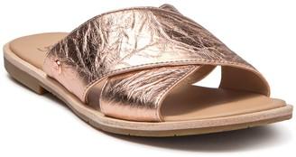 UGG Joni Metallic Slide Sandal