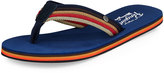 Original Penguin Colby Striped Thong Sandal, Multicolor