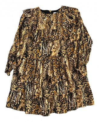BA&SH Fall Winter 2019 Gold Viscose Dresses