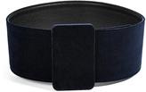 Jil Sander Velvet Belt in Ink/Black