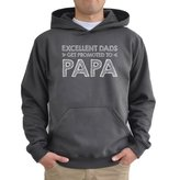 Eddany Excellent dads get promoted to papa Hoodie