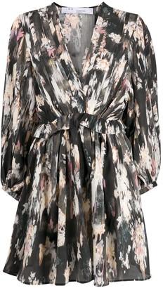 IRO Kemy abstract-print dress