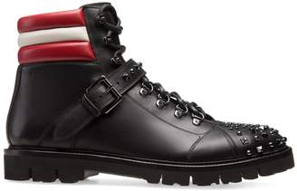 Bally Champions Studded Ankle Boots