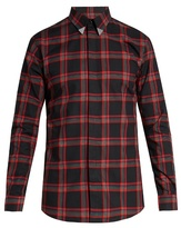 Givenchy Contemporary fit collar-tipped single-cuff shirt