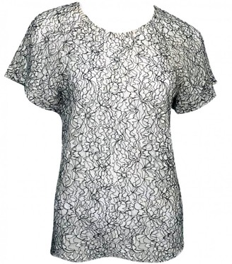 Erdem White Cotton Top for Women