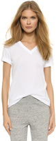 Alexander Wang Superfine V Neck Tee