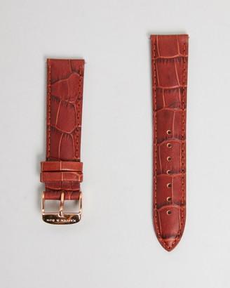 KAPTEN & SON Leather Strap