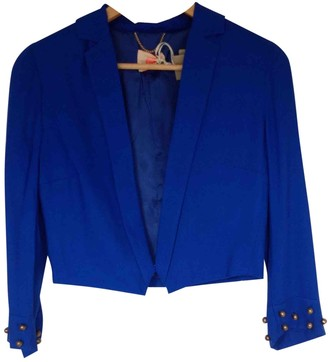 Matthew Williamson Blue Jacket for Women