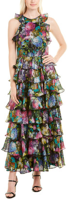 Flor Et. Al Flor Et.Al Silk-Blend Gown