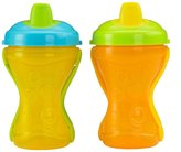 Fisher-Price Two-Grip Travel Soft Spout Sippy Cup - Multicolor - 8 oz - 2 ct