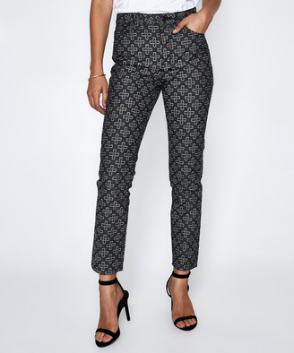 Ksubi Slim Pin Jeans Monogram Black