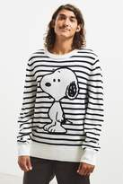 Urban Outfitters Snoopy Striped Sweater