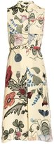 Gucci Sleeveless Floral Print Dress