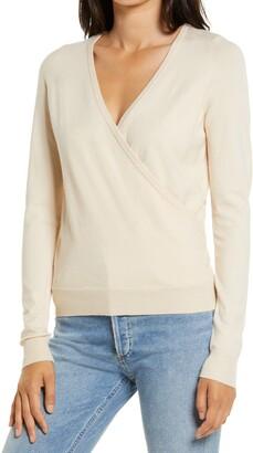 Vero Moda Karissara Faux Wrap Sweater