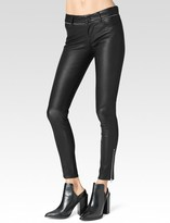 Paige Juliana Pant - Black Leather