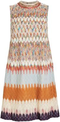 Missoni Jacquard Knit Shift Dress
