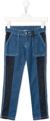 Chloé Kids straight cut jeans