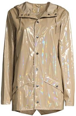 Rains Holographic Rain Coat