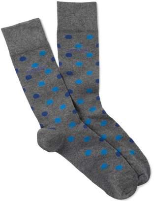 BOSS Dot Design Crew Socks