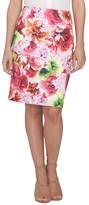 CeCe Scuba Pencil Skirt