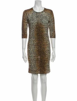 Dolce & Gabbana Wool Mini Dress Wool