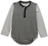 Sovereign Code Boys' Color-Block Striped Henley Tee - Little Kid, Big Kid