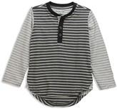 Sovereign Code Boys' Color-Block Striped Henley Tee - Sizes 2-7