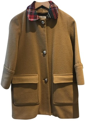 Opening Ceremony Camel Wool Coats