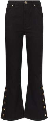 Sandro High-Rise Flared Jeans