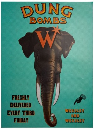 Harry Potter Dungbombs MinaLima Poster