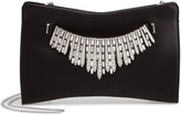 Jimmy Choo Tiara Crystal Satin Clutch