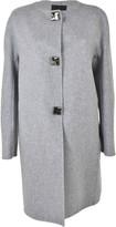 Ermanno Scervino Button Down Oversized Coat