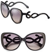 Roberto Cavalli RC911S 56mm Square Sunglasses