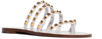 Valentino Rockstud Flair Slide Sandal