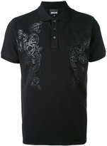 Just Cavalli printed polo shirt