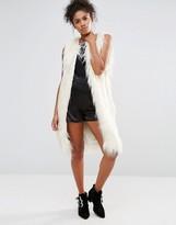 Glamorous Faux Fur Gilet