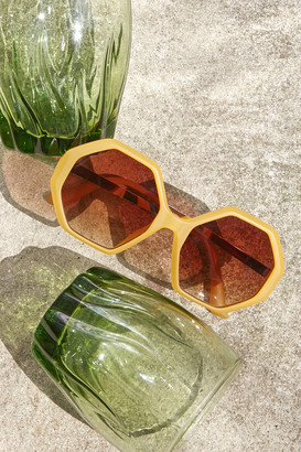 Hardie Combination Hexagon Sunglasses