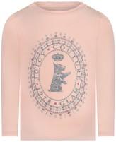 Juicy Couture Pink Long Sleeve Scottie Baby Top