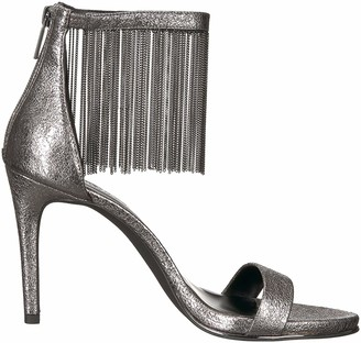 Kenneth Cole New York Women's Bettina Fringe Metallic Heeled Sandal