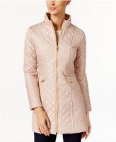 Via Spiga Quilted Water-Resistant Raincoat