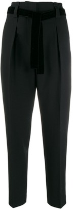 Pt01 Tapered Tailored Trousers