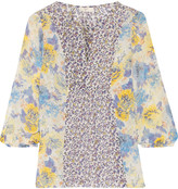 Joie Thistle printed silk blouse